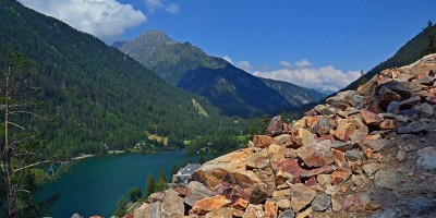 Champex-Lac, Wanderung Chemin Emile Lovey
